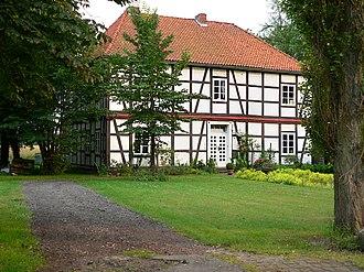 County of Wölpe - Letzter Rest des Amtes Wölpe, das frühere Amtsgerichtsgebäude von 1852