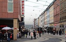 Kaiserstraße in Würzburg