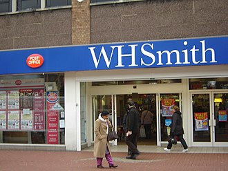 Post Office Ltd - A branch of W H Smith in Hounslow, incorporating a post office