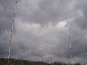 WKZV - WKZV two-tower directional antenna array