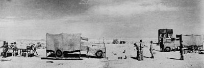 WO201-2023 Operation Bertram dummy vehicles at Diamond dummy pipeline October 1942