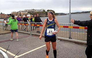 Karolin Ohlsson Swedish orienteering competitor