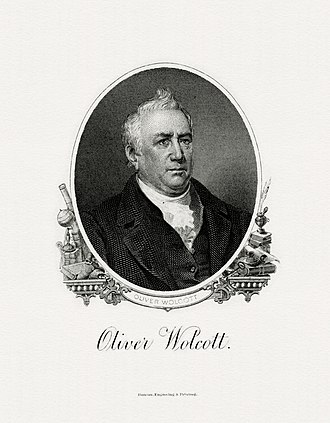 Oliver Wolcott Jr. - Image: WOLCOTT, Oliver Treasury (BEP engraved portrait)