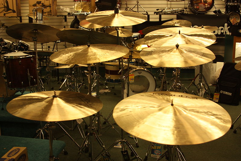 Recording Studio Cymbals