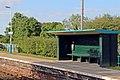 Waiting shelter, Pen-y-ffordd railway station (geograph 4032564).jpg