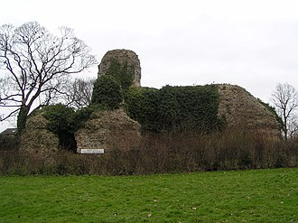 Saffron Walden - The remains of 12th-century Walden Castle