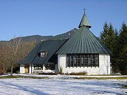 Waldkirche lenggries westen