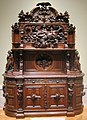 Walnut sideboard attributed to Joseph Alexis Bailly, c. 1855.JPG