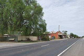 Walpeup Town in Victoria, Australia