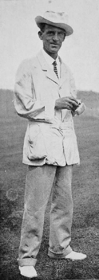 Walter Travis - In 1904, Travis became the first man to hold the British and American Amateur Championship at the same time.