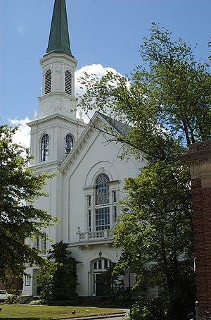 First Congregational Church (Waltham, Massachusetts) - Image: Waltham MA First Congregational Church
