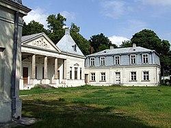 Pałac na Młocinach - pierwsza powojenna siedziba