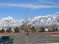 The Wasatch Range prevents the Wasatch Front from expanding further eastward.