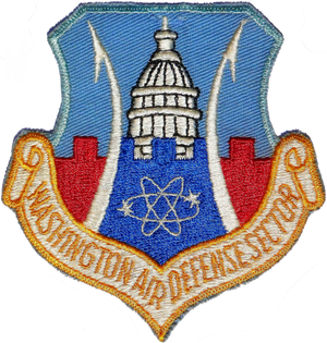 Fort Lee Air Force Station - Emblem of the Washington Air Defense Sector