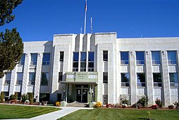 Washington County Courthouse, a Weiser
