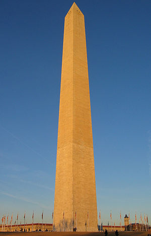 Egyptomania - The famous Obelisk (Washington Monument) in Washington, D.C.