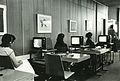 Watching video films in the Haifa University library, the 1980s.jpg