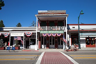 Trinity County, California - Image: Weaverville Historic District 3