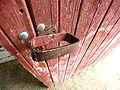 Well-worn door, Puck's Farm (2951493210).jpg