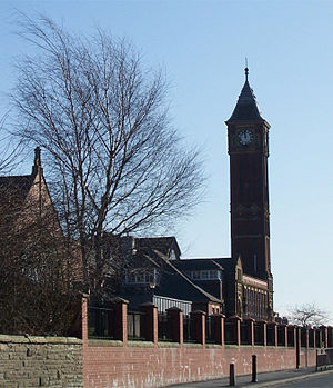 Werneth, Greater Manchester - Werneth Junior School Tower