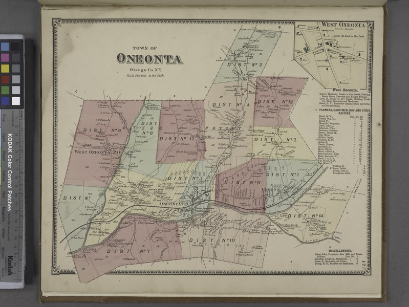 File:West Oneonta (Village); West Oneonta Business Directory.; Town of Oneonta, Otsego Co. N.Y. (Township) NYPL1602773.tiff