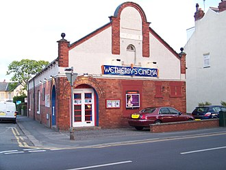 History of cinema in the United States - An independent cinema in Wetherby, West Yorkshire, UK.