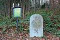 Wettin-Stein oder auch Wettinstein zu Ehren Haus Wettin in Eibenstock Rektorbrücke am Auersberg im Erzgebirge.jpg
