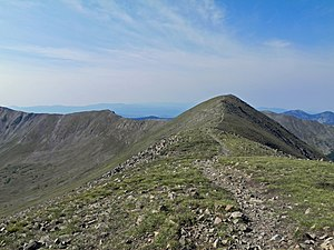 Wheeler Peak Wilderness - Wheeler Peak from Mount Walter
