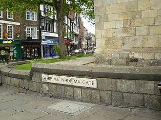 Whip-Ma-Whop-Ma-Gate - The start of Whip-Ma-Whop-Ma-Gate