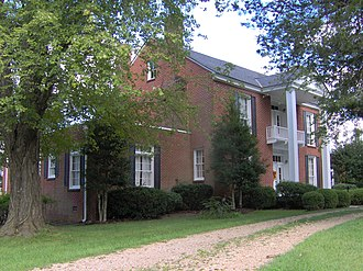White Plains (Cookeville, Tennessee) - House at White Plains, originally built in 1848 and remodeled in 1958