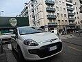White Fiat Punto Evo in Milan, Italy 05.jpg