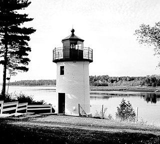 Whitlocks Mill Light lighthouse in Maine, United States