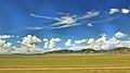Widoki mongolskiego krajobrazu widziane z minibusa Karakorum - Ułan Bator (13).jpg