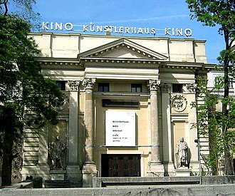 Vienna Künstlerhaus - This side wing of the Künstlerhaus is used as a cinema