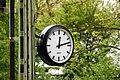 Wiesloch - Feldbahn- & Industriemuseum - Uhr.JPG