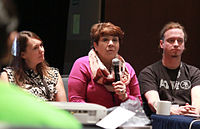 Wikimania 2015 - Joe Sutherland 21.jpg