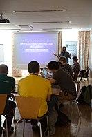 Wikimedia Hackathon Vienna 2017-05-19 Fantastic MediaWikis 001.jpg