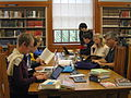 Wikipedia Loves Libraries at Multnomah County (OR) Library (2nd photo).jpg