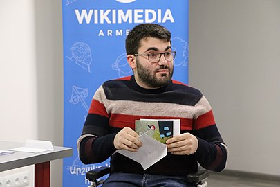 Wikipedia day 2020 in the Wikimedia Armenia office (9).jpg