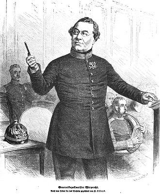 Wilhelm Friedrich Wieprecht - Wilhelm Wieprecht (1868)