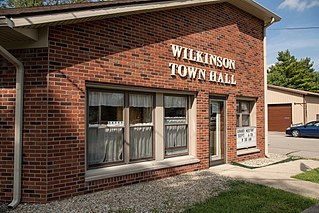 Wilkinson, Indiana Town in Indiana, United States