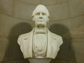William Alexander Graham - William Alexander Graham Marble Bust