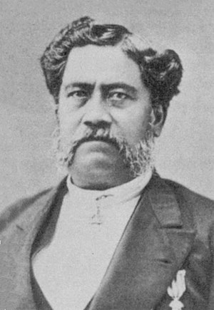 William Luther Moehonua - Photo of William Luther Moehonua, circa. 1878