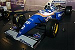Williams FW16 front-left 2017 Williams Conference Centre 2.jpg