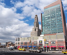 Williamsburgh Bank Tower and Atlantic Terminal, Brooklyn, NYC.jpg