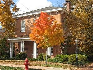Willis Allen - Allen's house in Marion