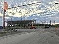 Willys Åmål under construction.jpg