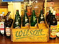 Wilson Fruit drinks crate with empty bottles, pic2.JPG