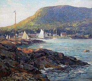 Wilson Henry Irvine Harbor at Camden Maine.jpg