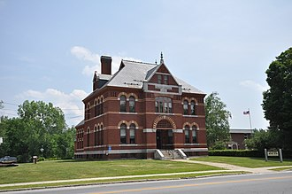 Winchester, New Hampshire - Image: Winchester NH Conant Library